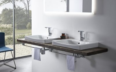 Roper Rhodes Breathe 600mm Basin - Herts Bathrooms