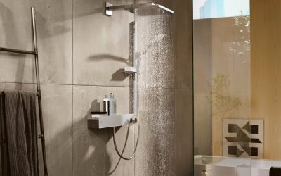 Hansgrohe Rain Shower - Herts Bathrooms